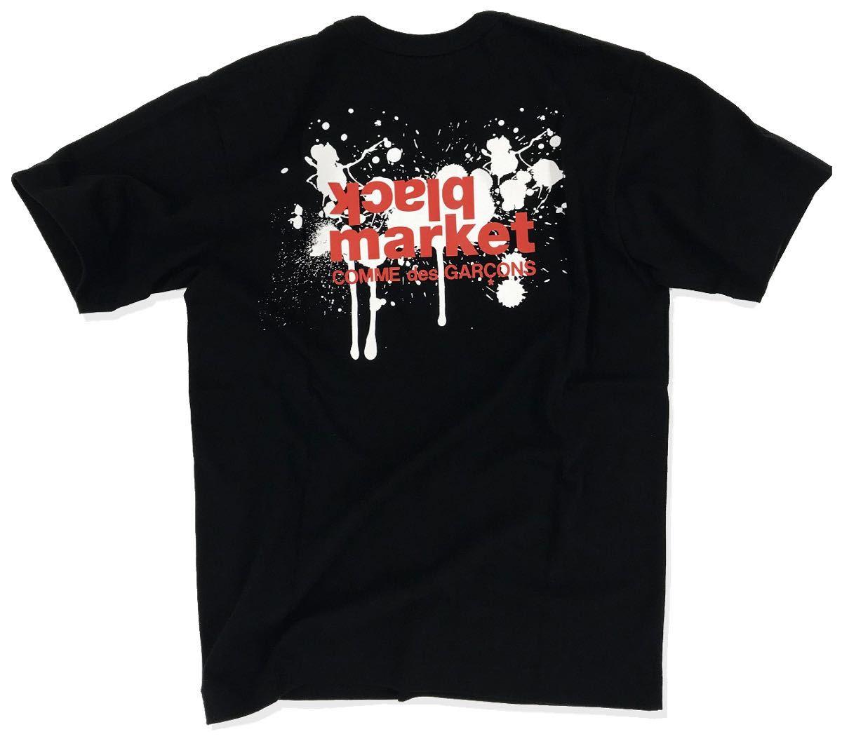 ブラックマーケットコムデギャルソン blackmarket COMME des GARCONS ミニーマウス 半袖Tシャツ M ブラックマーケット コムデギャルソン_画像2