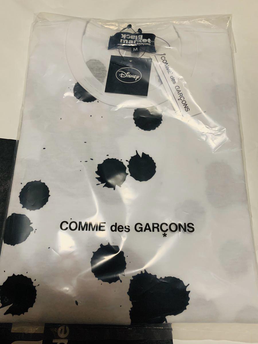 ブラックマーケットコムデギャルソン blackmarket COMME des GARCONS ミニーマウス 長袖Tシャツ M ブラックマーケット コムデギャルソン_画像3