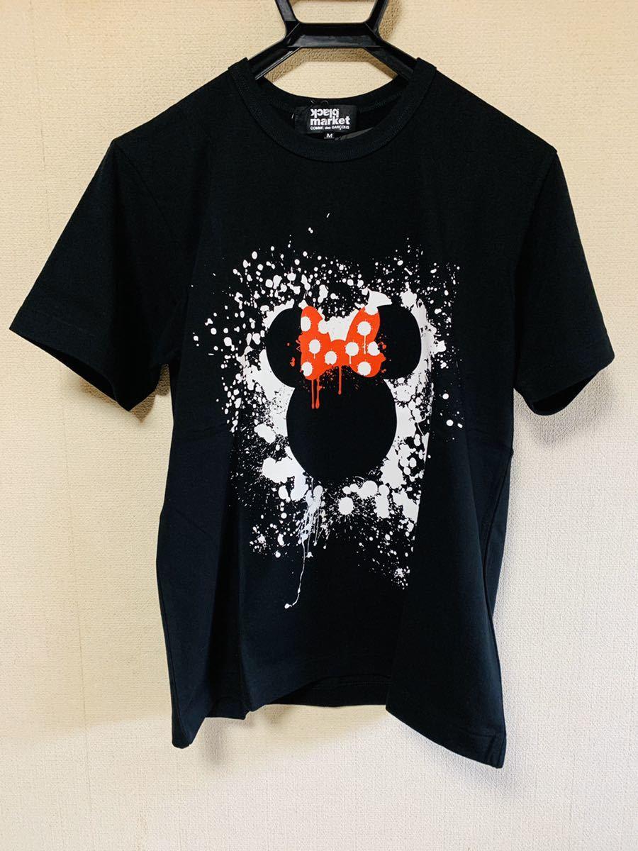 ブラックマーケットコムデギャルソン blackmarket COMME des GARCONS ミニーマウス 半袖Tシャツ M ブラックマーケット コムデギャルソン_画像4