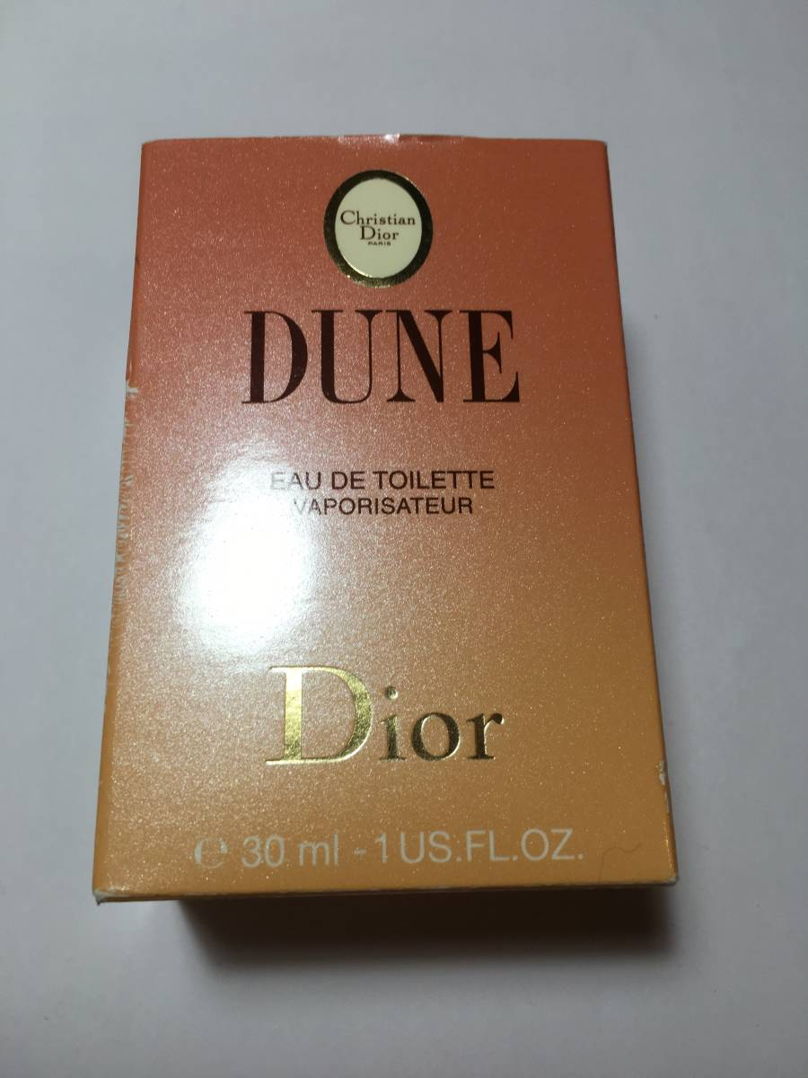Christian DiorDior ディオール デューン オードトワレ 30ml 残多_画像1