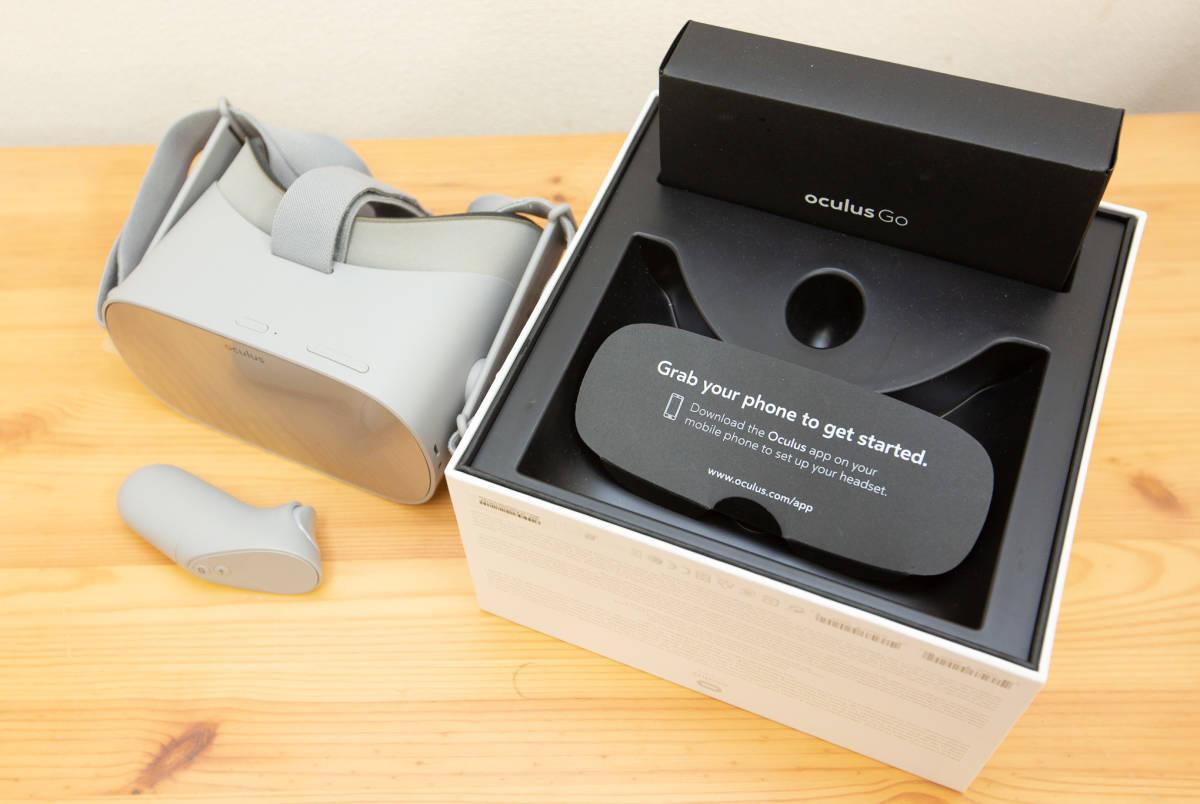【中古美品】VR HMD・Oculus Go(32GB)_画像2