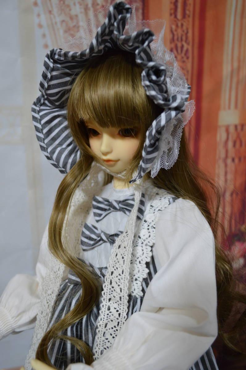 SD・SD13・SDGr・SD16 お洋服 ワンピース ドレス ストライプ _画像1