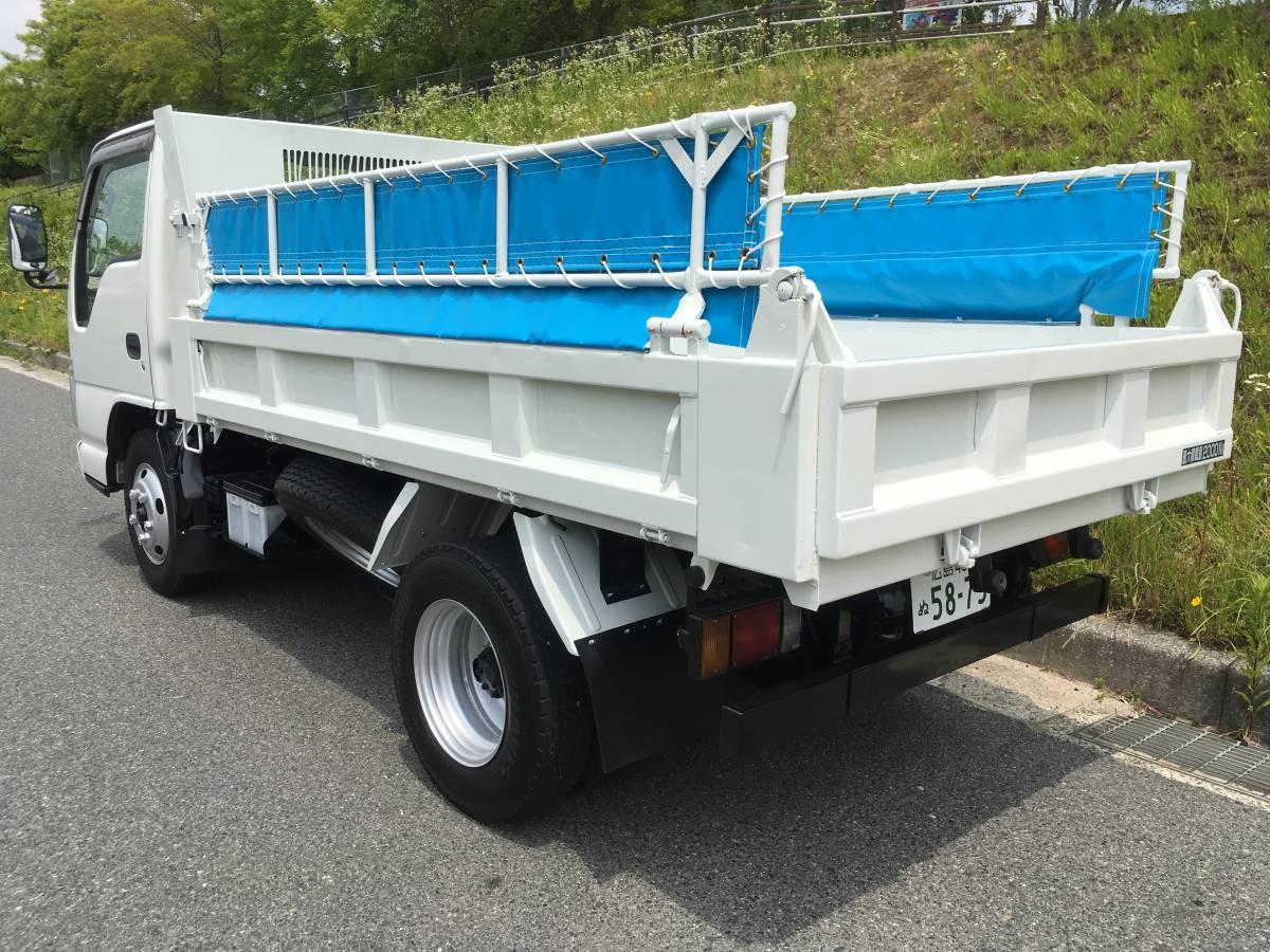 「平成19年 いすゞ エルフ 07エルフ 2トン 2t ダンプ コボレーン 車検付き 無事故 」の画像2