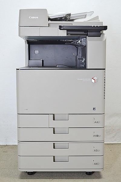 中古A3コピー機/中古A3複合機/正常動作品/88038枚/Canon/キャノン image RUNNER iR-ADV C3330F/コピー/FAX/プリンタ/スキャナ_画像2