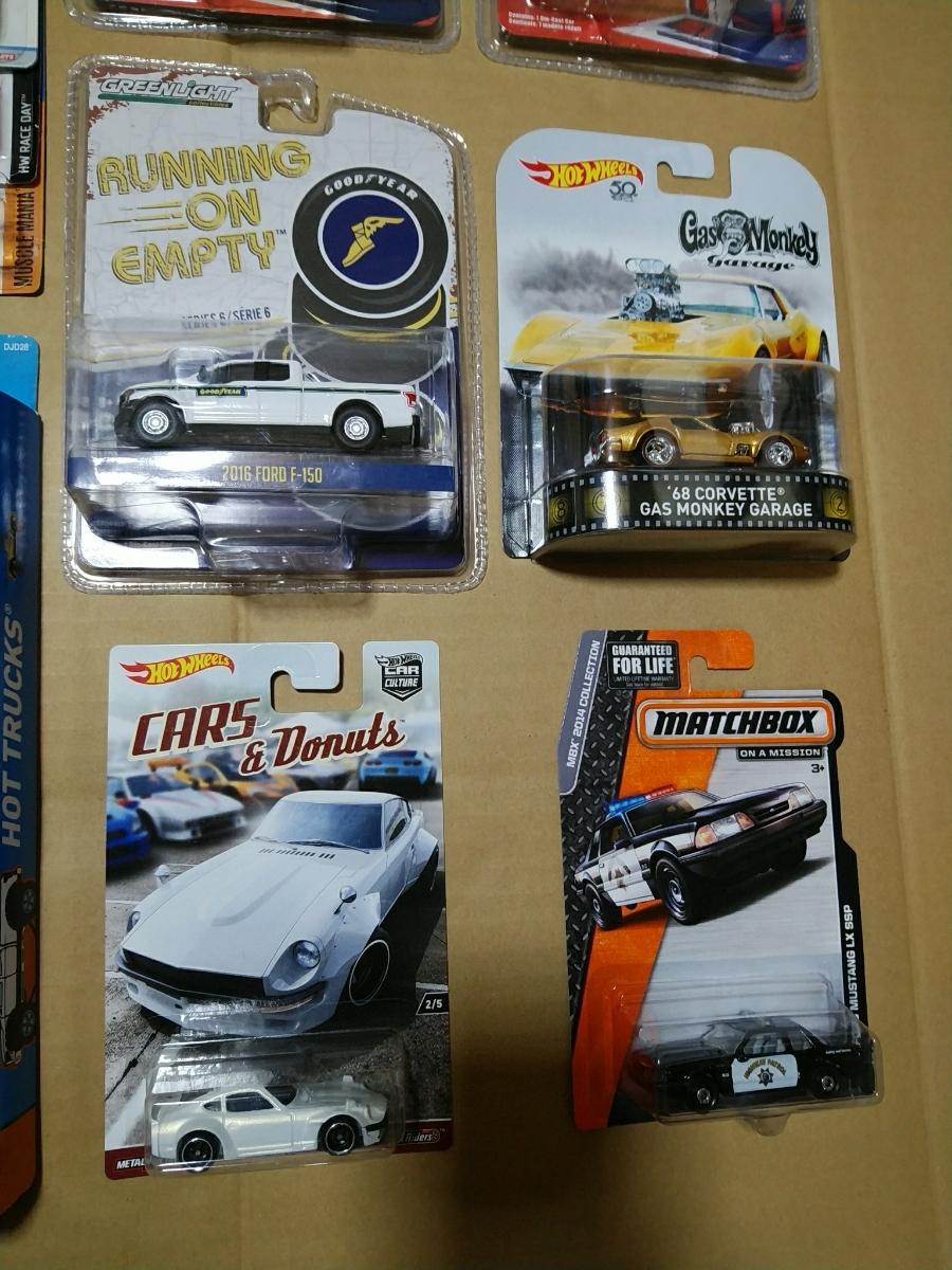 ☆新品 ミニカー色々まとめてセット! ホットウィール OPENTRACK GT-R R32 マジョレット グリーンライト ガスモンキー 5PACK マッチボックス_画像3