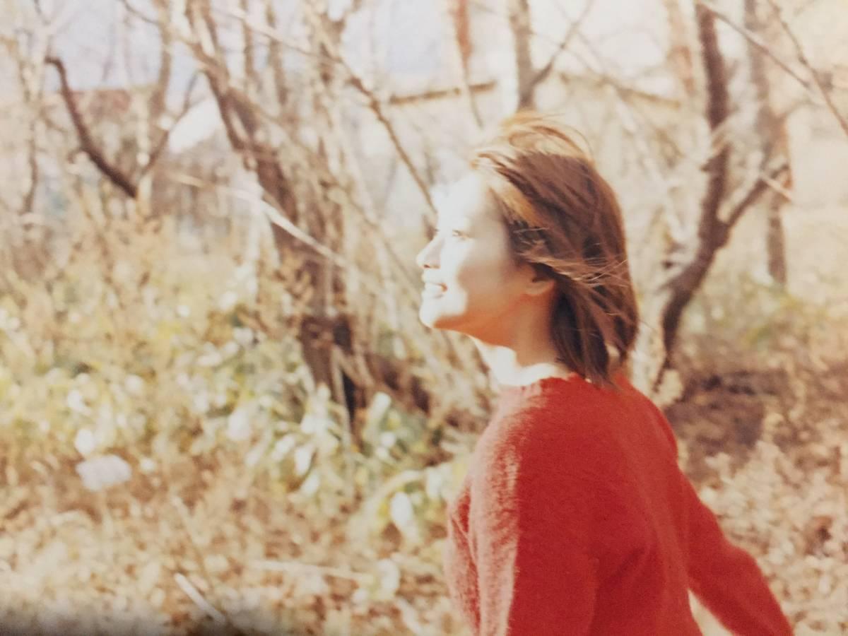 古本 帯なし ポスター付き 写真集 出逢い 安倍なつみ 撮影:佐内正史 なっち モーニング娘。 ハロプロ アイドル 山崎育三郎 送料¥188~_画像5