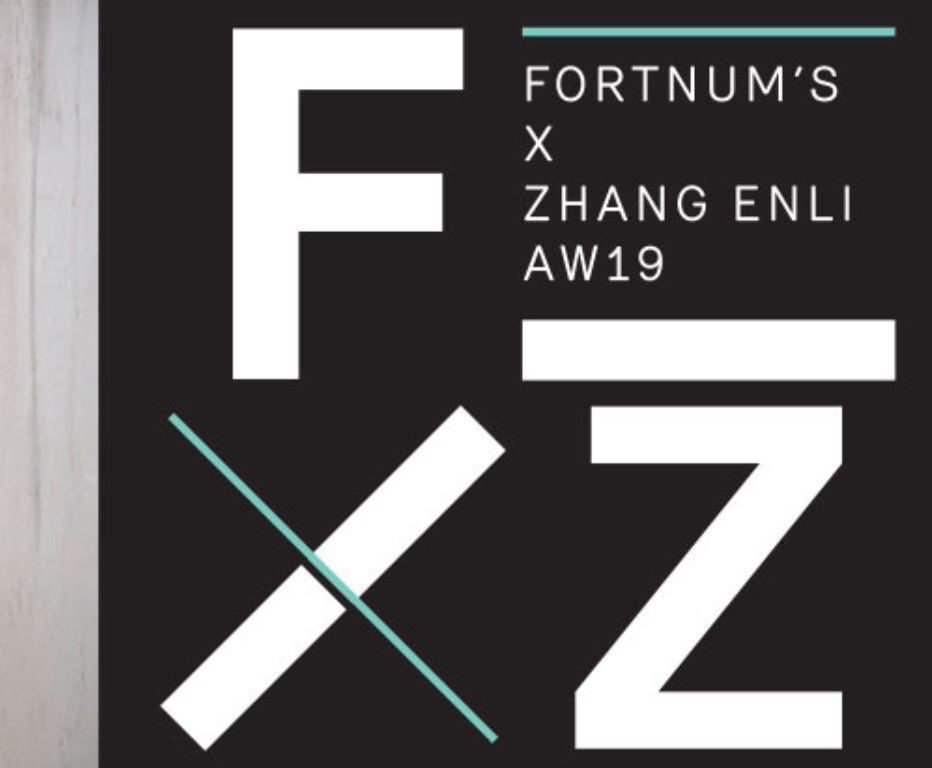レア【ロンドン本店・2019年秋。期間限定展示のお土産品】フォートナム&メイソン  Fortnum's X Zhang Enli コットントートバッグ_画像10