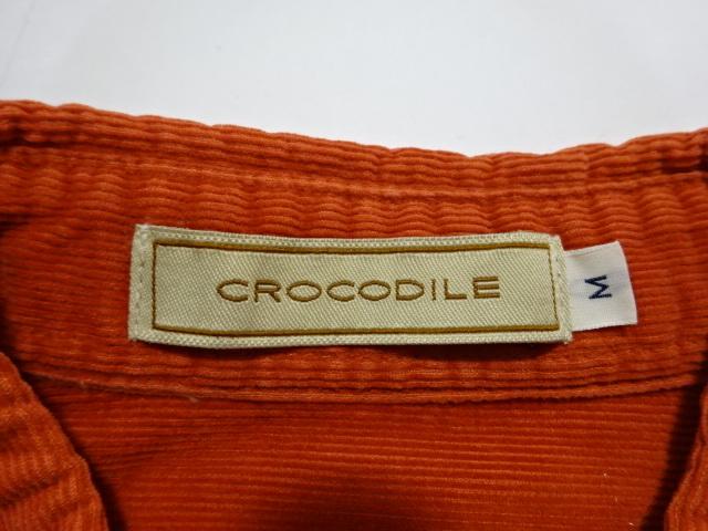 ●CROCODILE クロコダイル 長袖シャツ M ●1012●_画像2