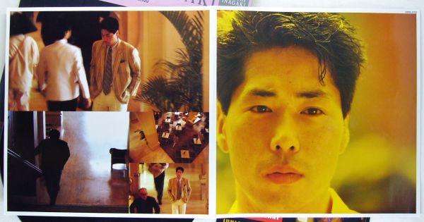 ■稲垣潤一|NO STRINGS <LP 1985年 帯付き・日本盤>5thアルバム 初回特典ステッカー付き_画像5