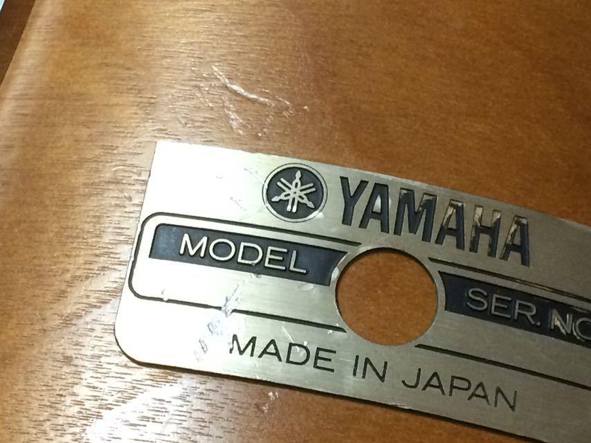 YAMAHA タムタムTT-910AナチュラルウッドYD-9000 レコーディングカスタムYD9000ヤマハ ビンテージドラム希少10インチ_画像6