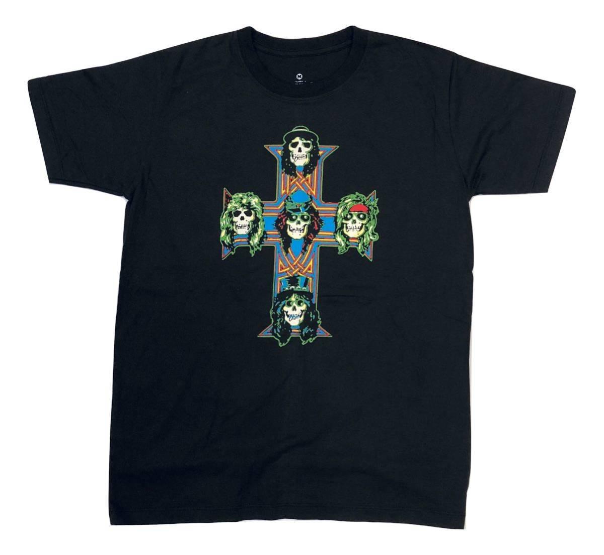 新品 Axl Rose アクセル・ローズ Guns N' Roses ガンズ・アンド・ローゼズ バンドTシャツ バンT ROCK ロック ハードロック 03 M_画像1