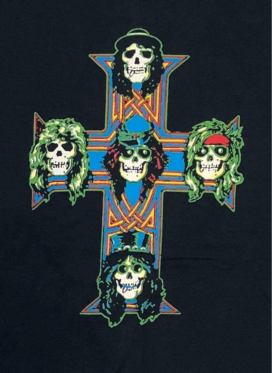 新品 Axl Rose アクセル・ローズ Guns N' Roses ガンズ・アンド・ローゼズ バンドTシャツ バンT ROCK ロック ハードロック 03 M_画像2