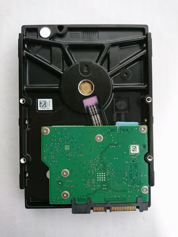 ジャンク品★SEAGATE ハードディスク HDD ST3000NC002 3TB /SATA600 /7200 rpm/3.5インチ ★★_画像2