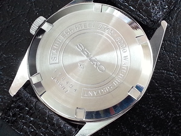 大野時計店 セイコー ロードマーベル 5740-8000 手巻 1971年7月製造 36000ビート アラビア数字 絹目文字盤 希少_画像5