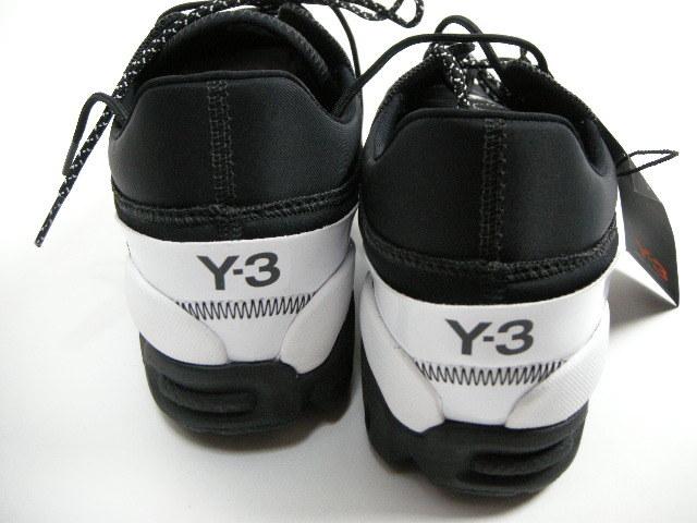 新品■サイズXL (28cm)■Y-3 ワイスリーEKIKAエキカ シューズ/スニーカー/ブラック/ADIDAS/アディダス/ヨウジヤマモト/YOHJI YAMAMOTO/Y's_画像4