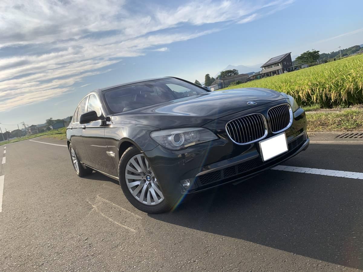 「個人出品 BMW 7シリーズ 750i コンフォートパッケージ 2009年式 車検令和3年3月 約88,000㎞」の画像1