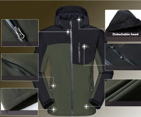 送料無料y 新品 スキー スノボー 防寒 釣り用ウエアー 冬用アウター 防寒着 アウトドア 防水 メンズ 上下セット XLサイズ カラー選択可_画像2