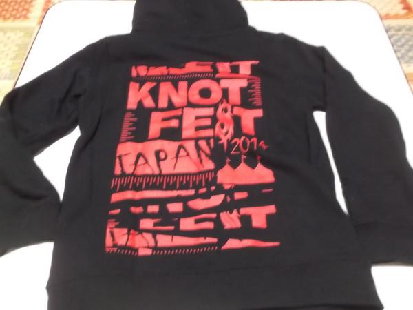 - ノットフェス KNOTFEST JAPAN 2014 【 パーカー 】 スリップノット SLIPNOT_画像3