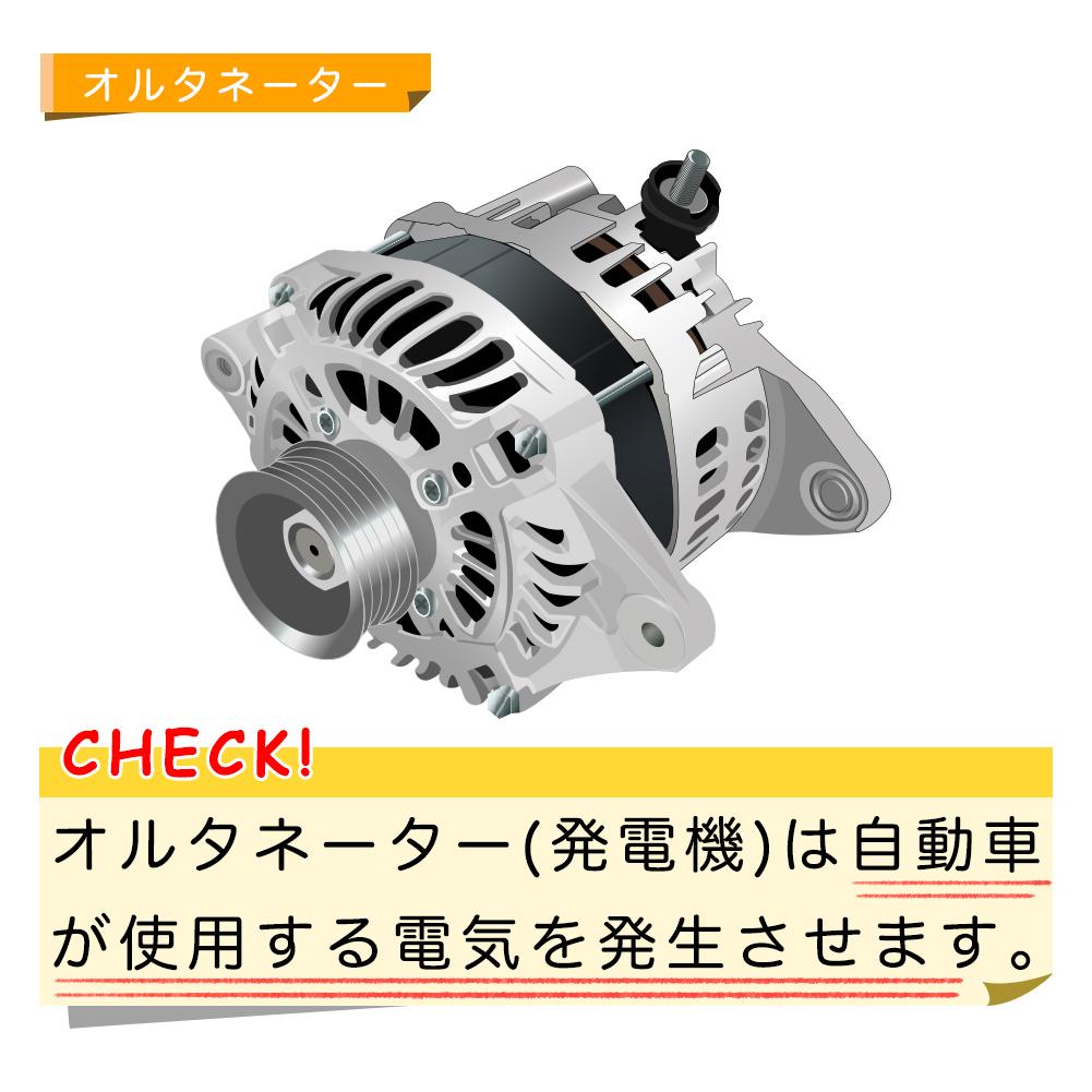 ファンベルトセット マツダ ボンゴブローニィ 型式SKE6V H11.06~H19.08 ロードパートナー 2本セット_オルタネーター