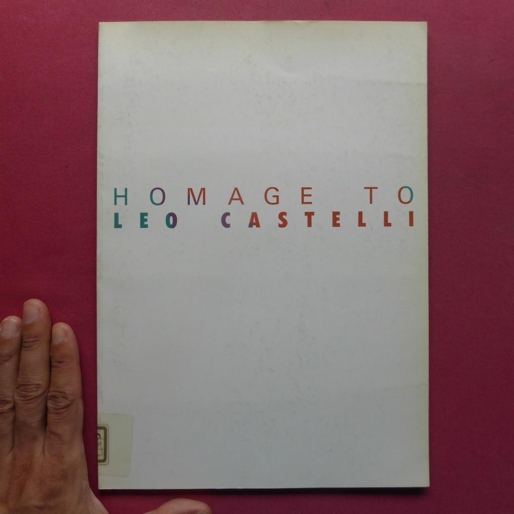 y2図録【レオ・カステリとニューヨーク・アートシーン/1983年】東野芳明:レオ・カステリの四半世紀/森口陽:レオ・カステリについて_画像1