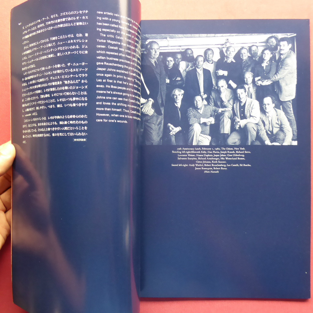 y2図録【レオ・カステリとニューヨーク・アートシーン/1983年】東野芳明:レオ・カステリの四半世紀/森口陽:レオ・カステリについて_画像5