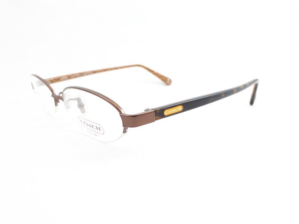 新品《デッドストック》 COACH コーチ EDNA 904AF 51口16-135 DARK BROWN 度付きレンズ無料 眼鏡フレーム_画像3