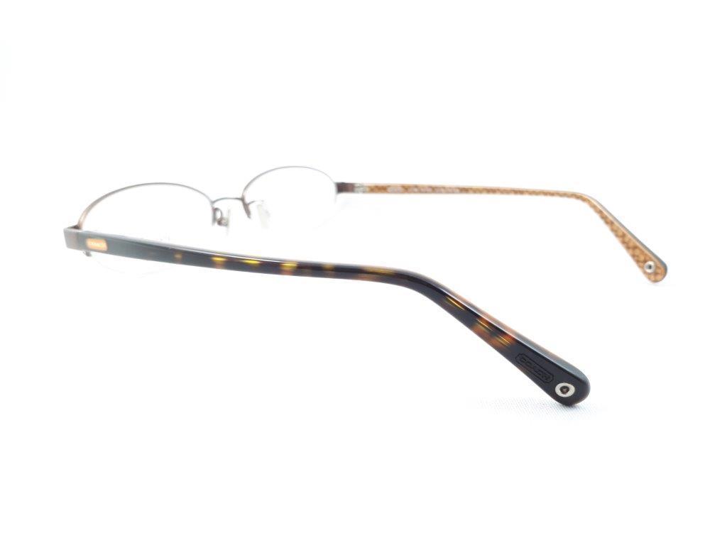 新品《デッドストック》 COACH コーチ EDNA 904AF 51口16-135 DARK BROWN 度付きレンズ無料 眼鏡フレーム_画像5