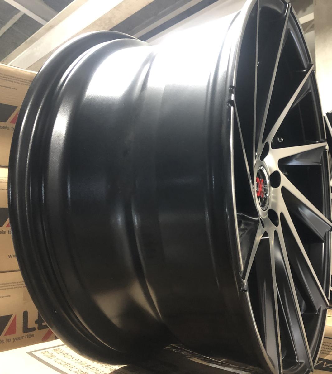 美品!! スカイライン フーガ Z33 SC アルファード ヴェルファイア IS クラウン 20インチ タイヤホイールセット 9J&10J 4本 LEXXEL Laluce_画像6