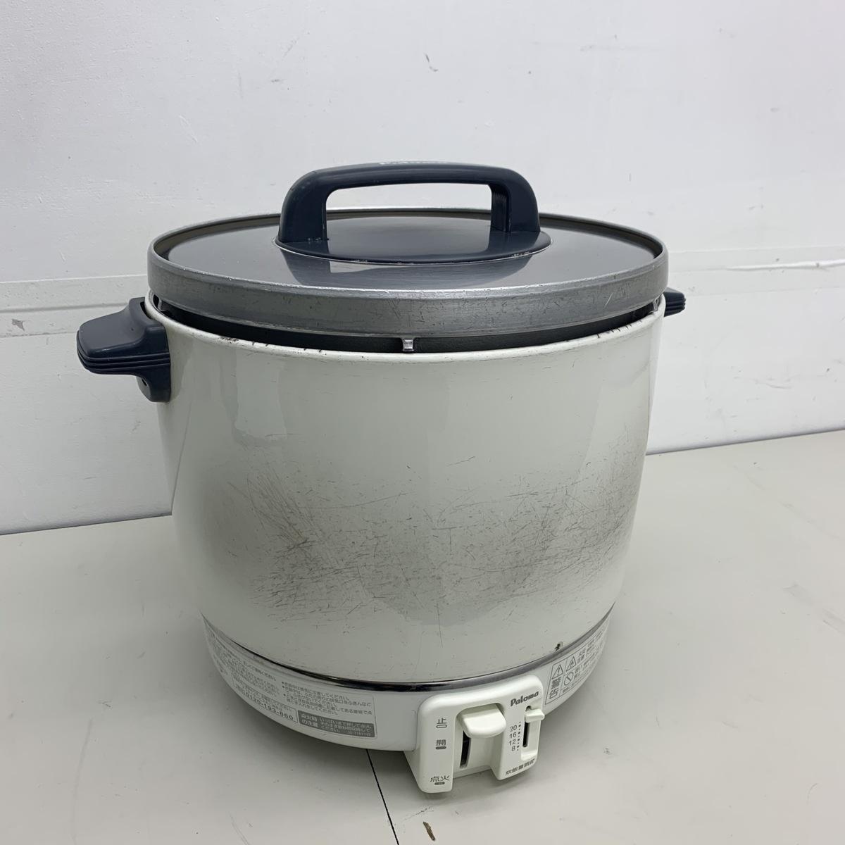 【都市ガス】 Paloma/パロマ 『業務用ガス炊飯器 PR-403SF』 2.0升炊き_画像1