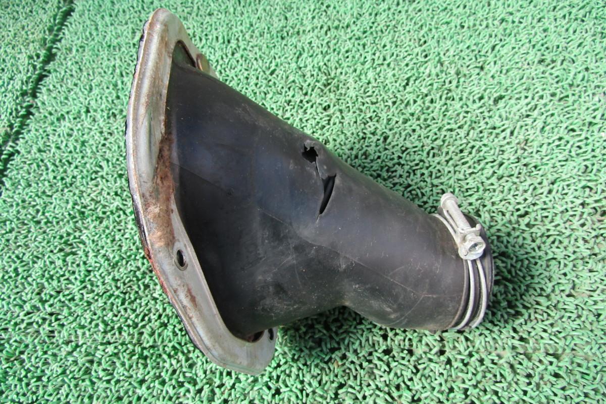 AE86 4AG レビン トレノ ステアリングシャフト カバー ブーツ 破れあり AE85 ①_画像1