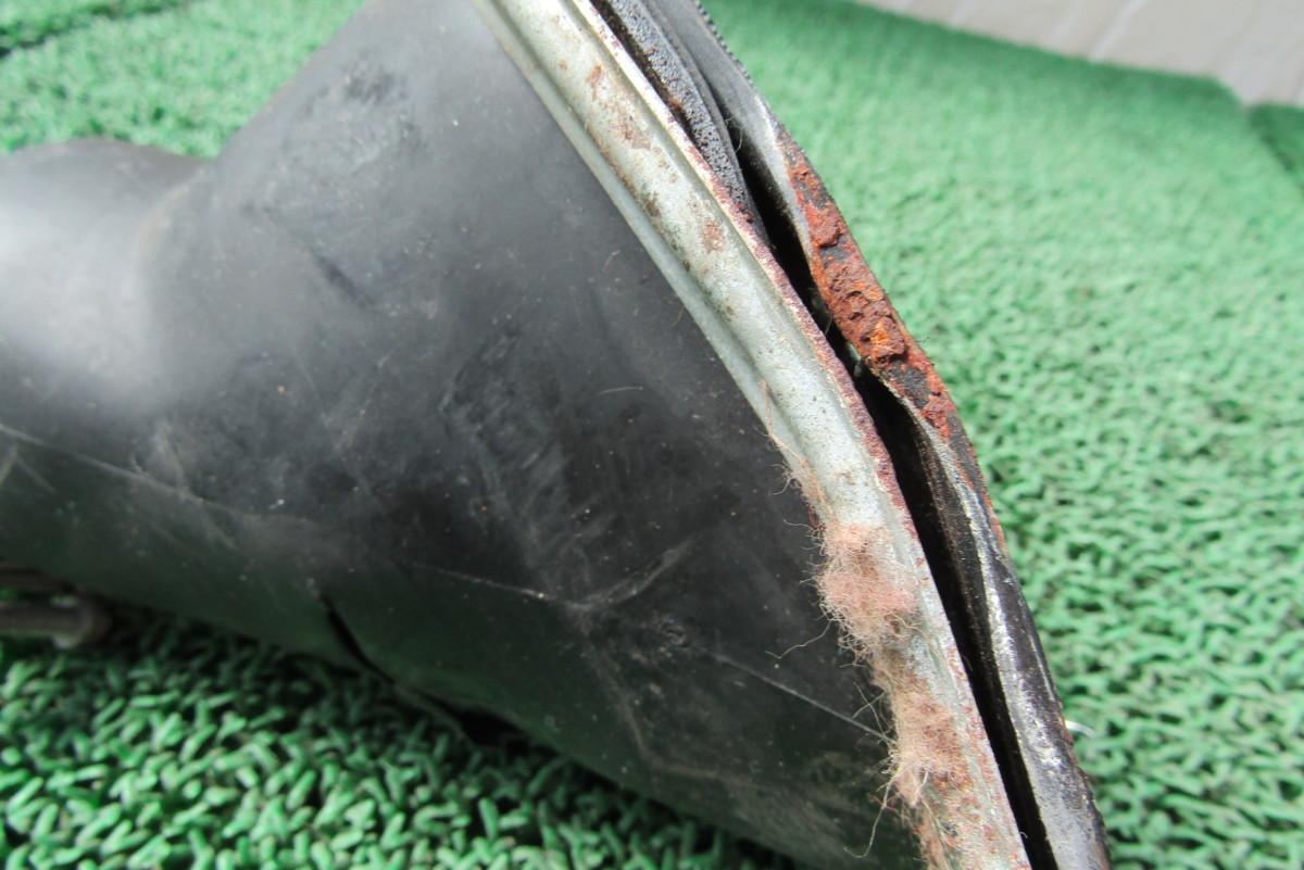 AE86 4AG レビン トレノ ステアリングシャフト カバー ブーツ 破れあり AE85 ①_画像7