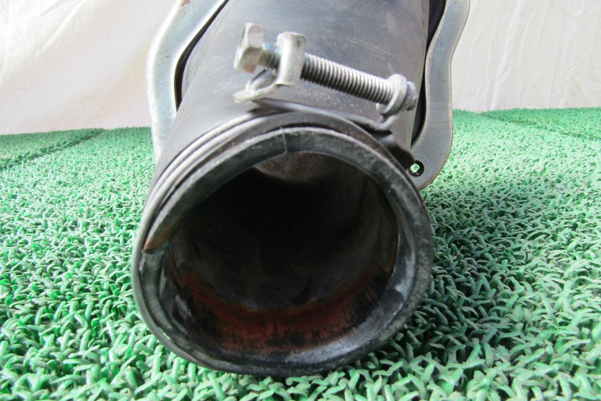 AE86 4AG レビン トレノ ステアリングシャフト カバー ブーツ 破れあり AE85 ①_画像8