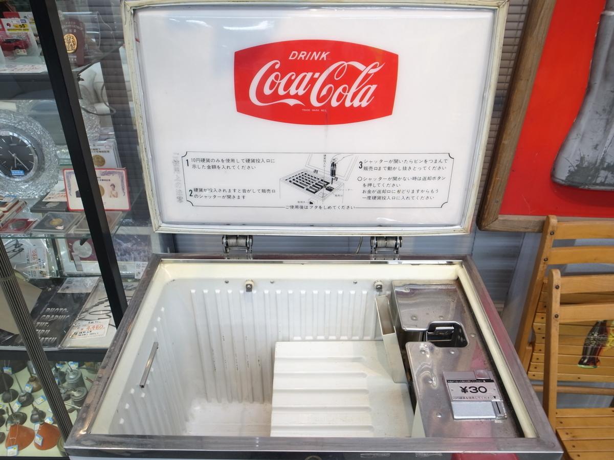 当時物 コカ・コーラ ボトル用自動販売機 SANYO SVM-48 昭和レトロ 店頭引取歓迎 愛知県半田市_画像3