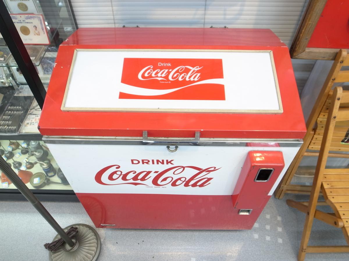 当時物 コカ・コーラ ボトル用自動販売機 SANYO SVM-48 昭和レトロ 店頭引取歓迎 愛知県半田市_画像2