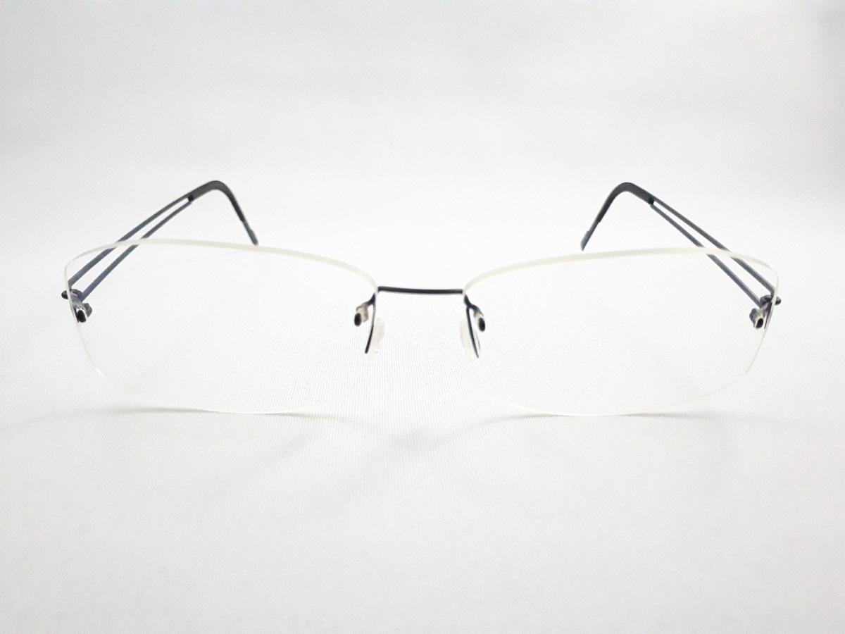 新品《デッドストック》 LINDBERG リンドバーグ スピリット・チタニウム col.U13 ブルー MADE IN DENMARK 度付きレンズ無料 メガネ 眼鏡_画像2