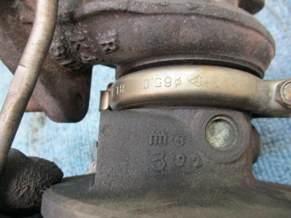 PA1 ホンダ Z 4WD Zターボ 純正タービン IHI VG6 0104 02 040H PTG-0032_画像9