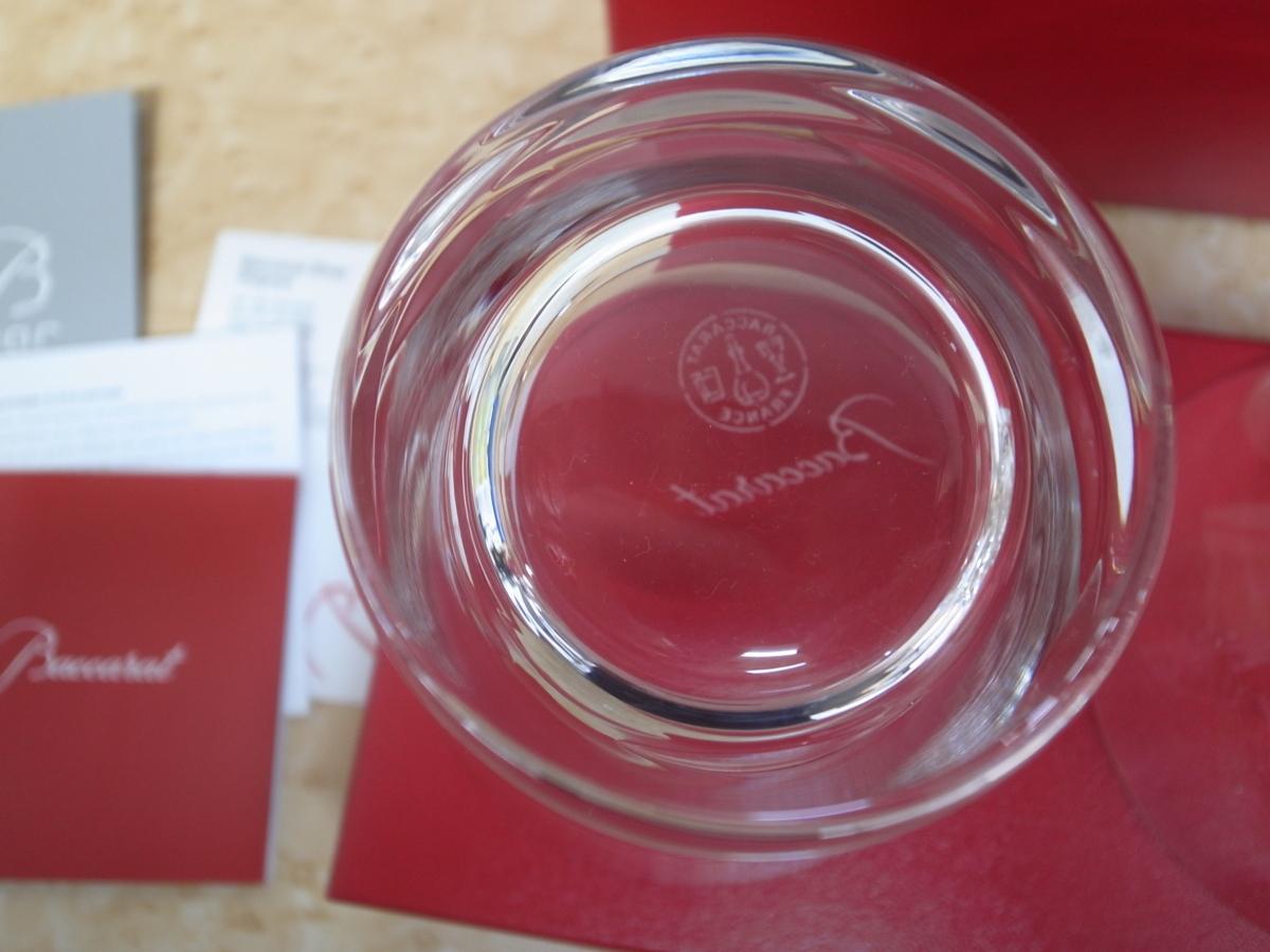 T1385 【本物保証】バカラ Baccarat グラス タンブラー ローラ ペア クリスタルガラス 2客_画像2