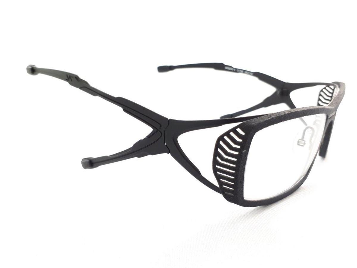 新品 PARASITE パラサイト SIDERO 4 C17M 55口16 ブラック made in France 度付きレンズ無料 メガネ 眼鏡フレーム_画像4