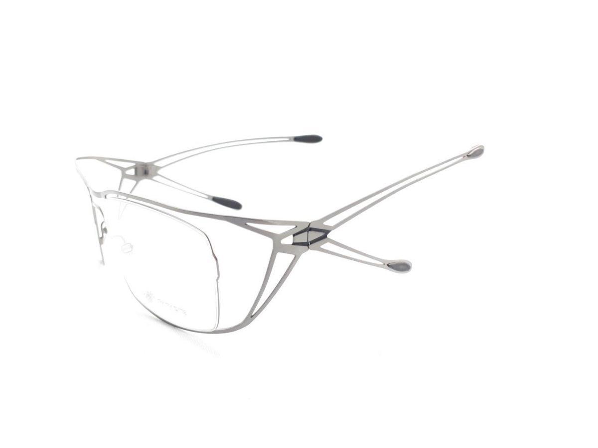 新品 PARASITE パラサイト MAZINGER Y C58 56口18 シルバー made in France 度付きレンズ無料 メガネ 眼鏡フレーム_画像3
