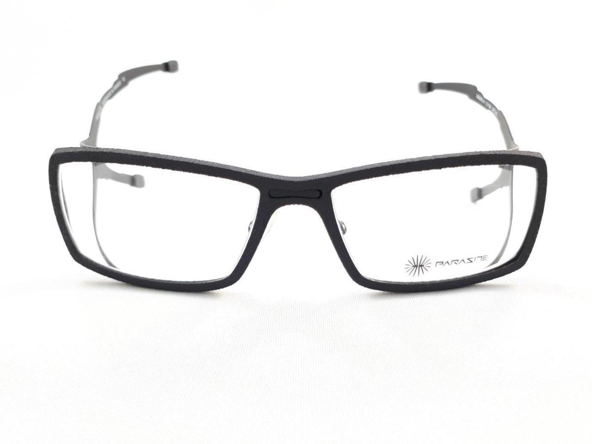 新品 PARASITE パラサイト SIDERO 4 C17M 55口16 ブラック made in France 度付きレンズ無料 メガネ 眼鏡フレーム_画像2