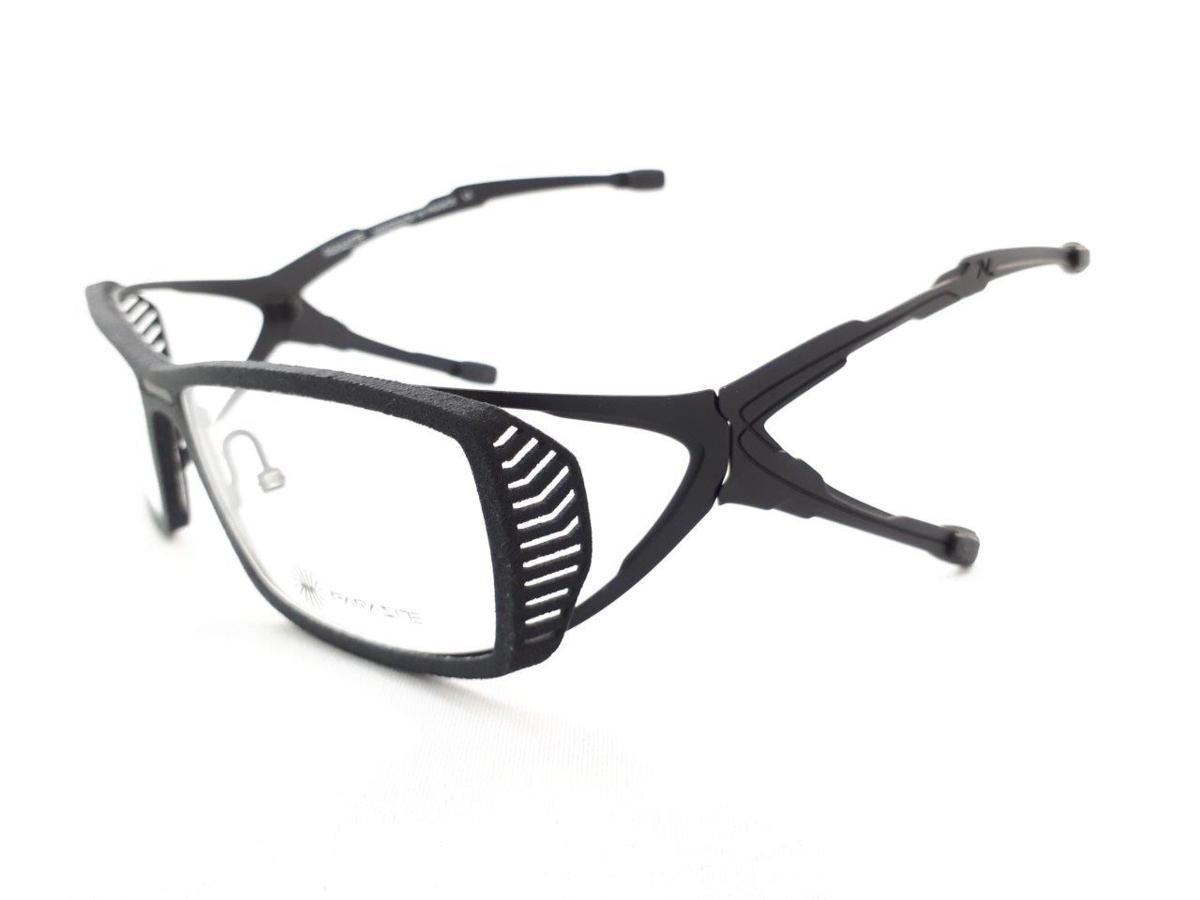 新品 PARASITE パラサイト SIDERO 4 C17M 55口16 ブラック made in France 度付きレンズ無料 メガネ 眼鏡フレーム_画像3