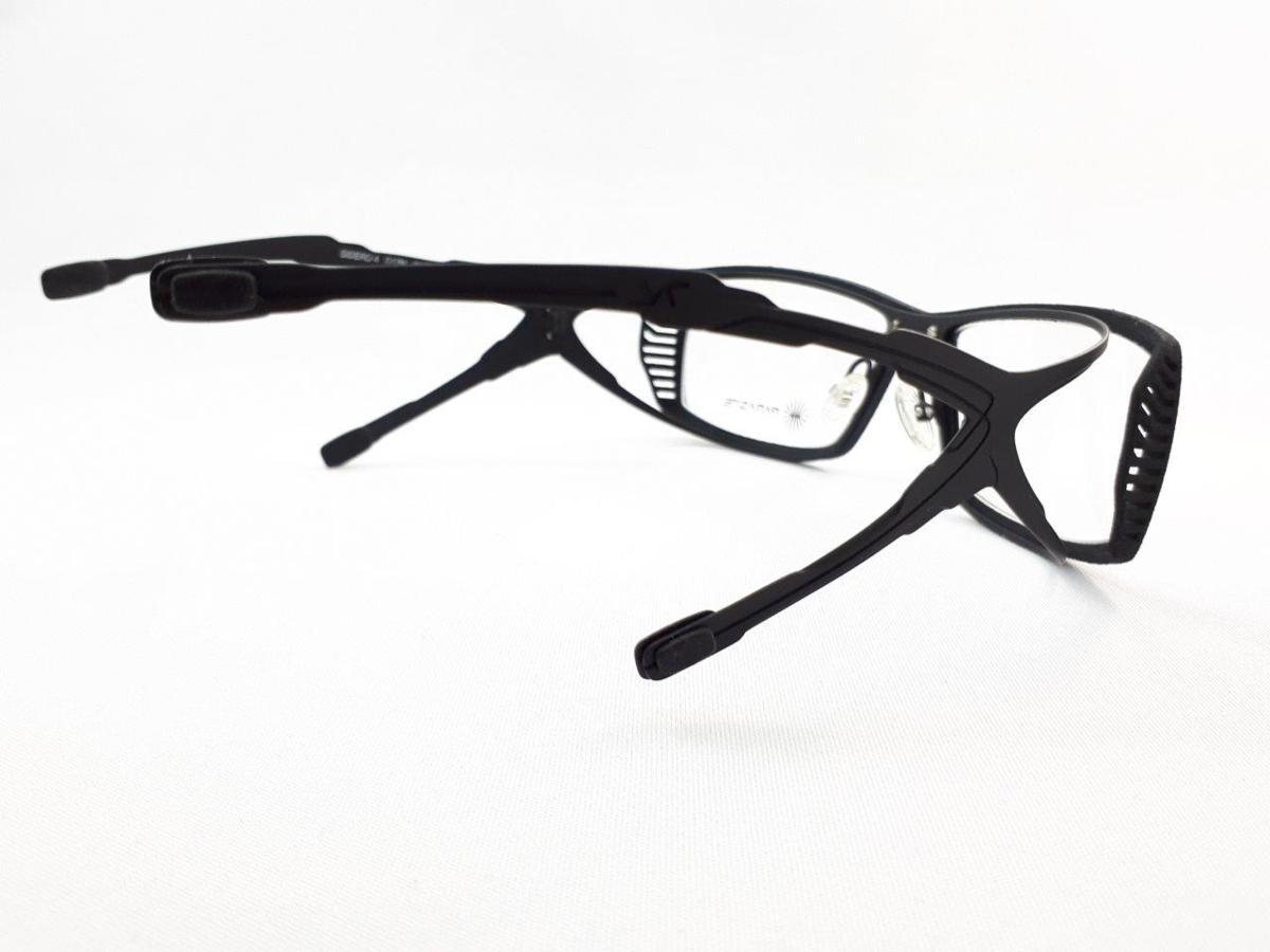 新品 PARASITE パラサイト SIDERO 4 C17M 55口16 ブラック made in France 度付きレンズ無料 メガネ 眼鏡フレーム_画像6