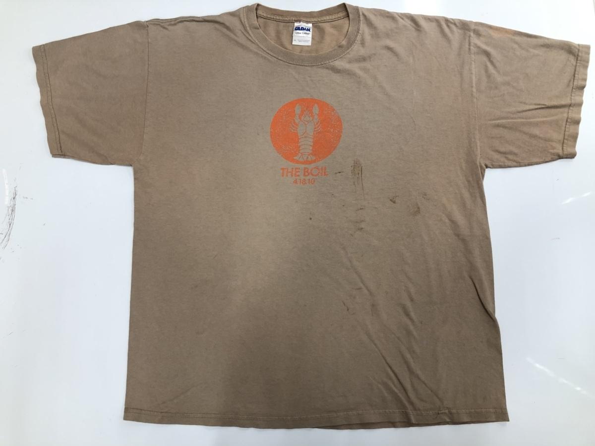 The boil Tシャツ アメリカ輸入品 USA古着卸 アメカジ サイズXL BIG オーバーサイズ Gildan ギルダン_画像1