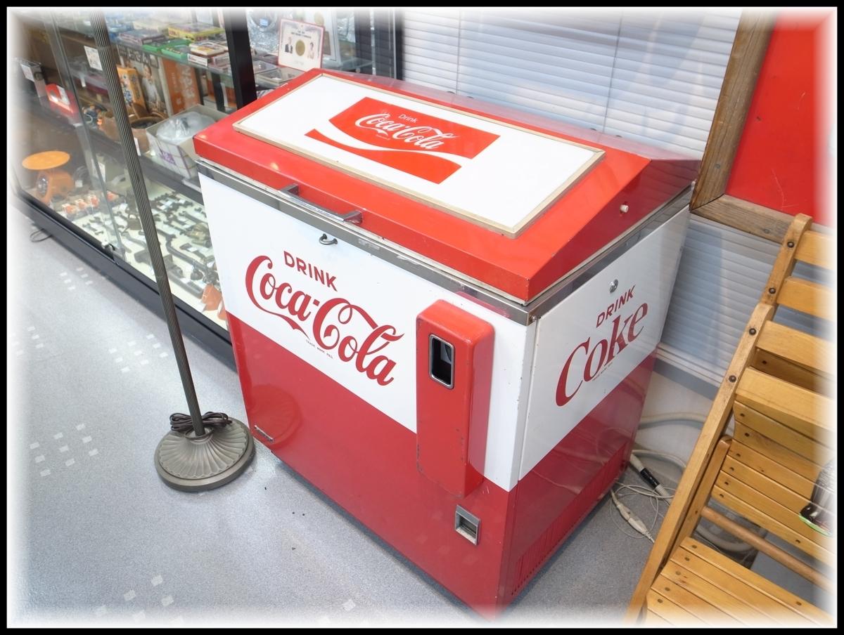 当時物 コカ・コーラ ボトル用自動販売機 SANYO SVM-48 昭和レトロ 店頭引取歓迎 愛知県半田市_画像1