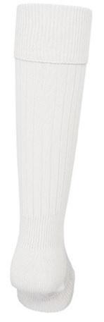新品即決 mitreマイター サッカーストッキング 22-24cm ホワイト M29500V-WHITE-2224_画像2
