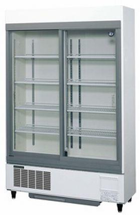 新品未開封 19年製 ホシザキ星崎 リーチイン冷蔵ショーケース スライド扉 お酒照明付 463L ガラス冷蔵庫 100V 1200×450 RSC-120DT-2_画像3