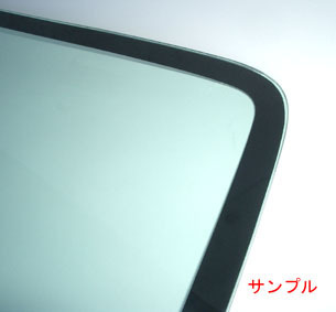 サーブ 純正新品 フロントガラス サーブ 9-5 1998-2009Y グリーン レインセンサー無車用_画像2
