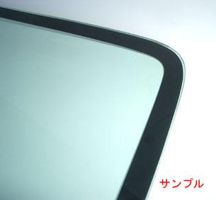 サーブ 純正新品 フロントガラス サーブ 9-3 2003-2009Y グリーン レインセンサー付車用_画像2