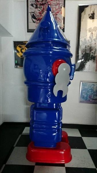 世界10台限定品! 少年ジェット GALAXY ROBOT (コーンロボット) 約170cm スタチュー 巨大 等身大 フィギュア [レア/希少]_画像5