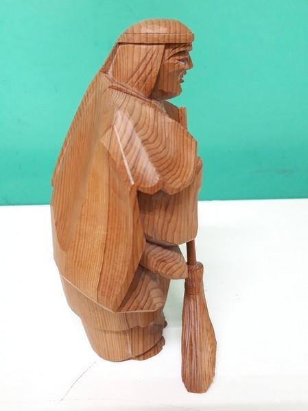 【高砂人形】伝統工芸品指定/一位一刀彫/高砂/和之作/高砂人形/kh0753_画像9